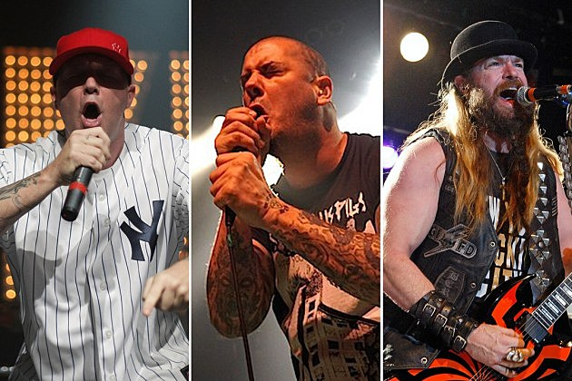Limp Bizkit Metal Allegiance Black Label Society