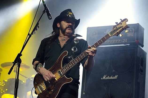 Motorhead's Lemmy Kilmister