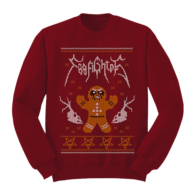 foo fighters christmas sweater foofighterscom - Metal Christmas Sweater