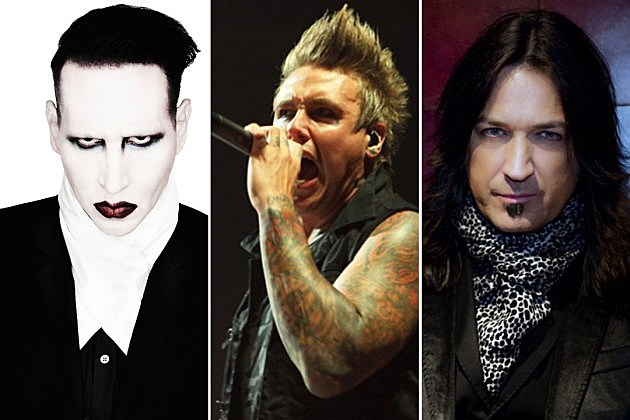 Marilyn Manson Papa Roach Michael Sweet