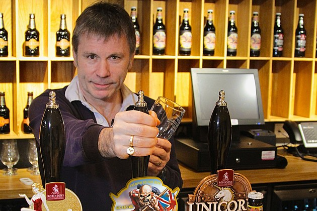 Bruce Dickinson to Launch New Iron Maiden Beer in 2016