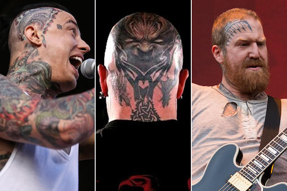 10 Musicians With Face + Head Tattoos