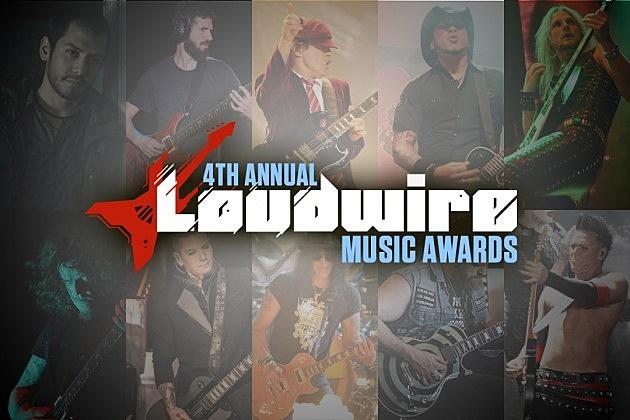 Best Guitarist Loudwire LMA 14