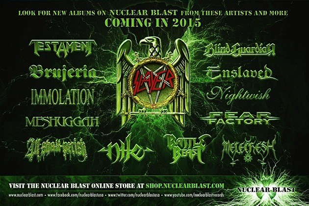 Nuclear Blast 2015 Releases