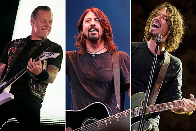 Metallica Foo Fighters Soundgarden