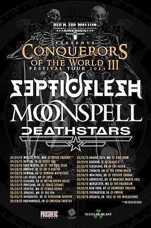 Septicflesh 2015 Tour