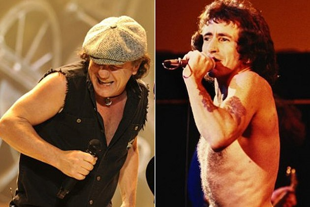 ACDC Brian Johnson Bon Scott
