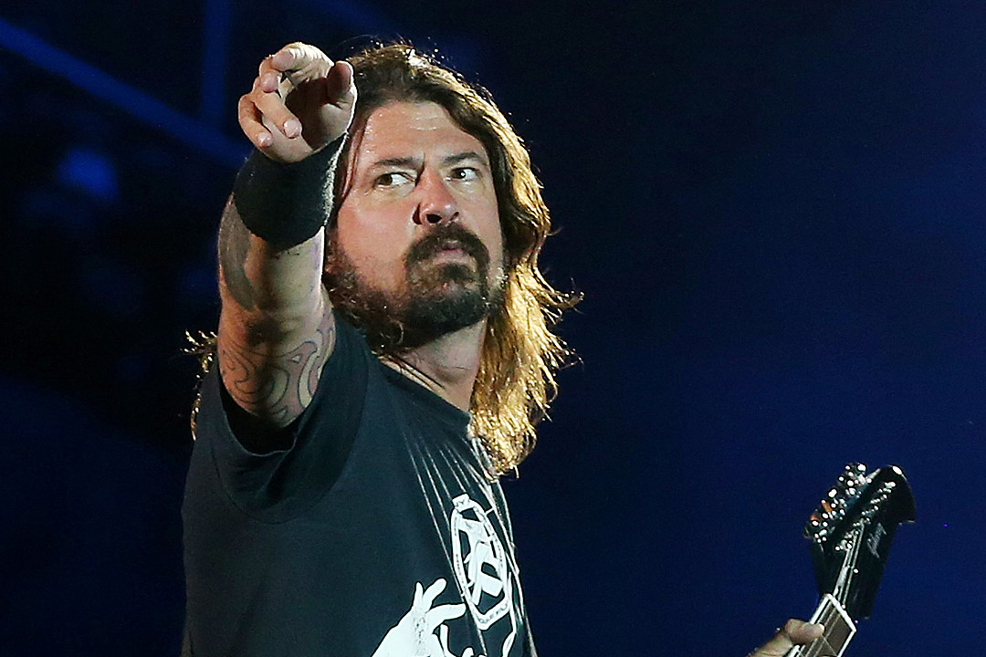 Shooting Underway on Film About Dave Grohl's Life