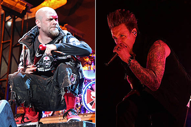 Five Finger Death Punch Papa Roach