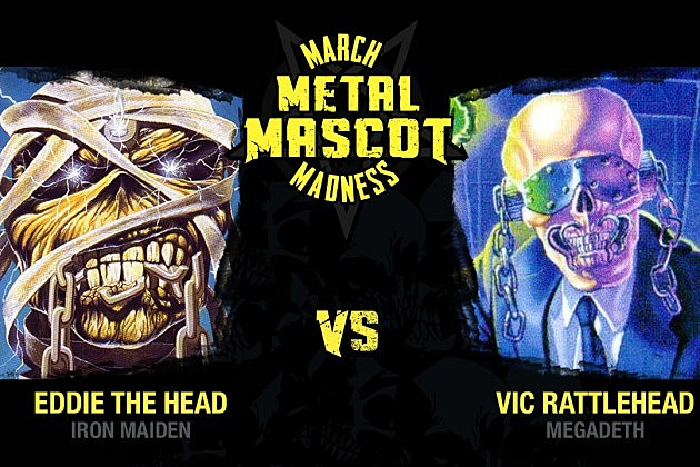 Iron Maiden vs. Megadeth - March Metal Mascot Madness, Final