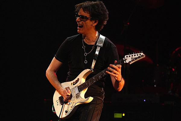 Guitar Player With Steve Vai Tour