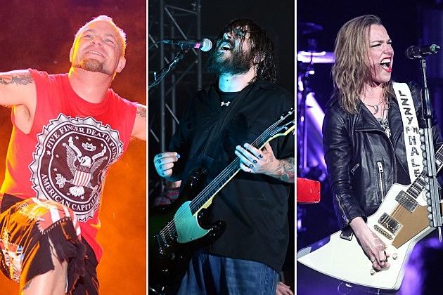Five Finger Death Punch Seether Halestorm