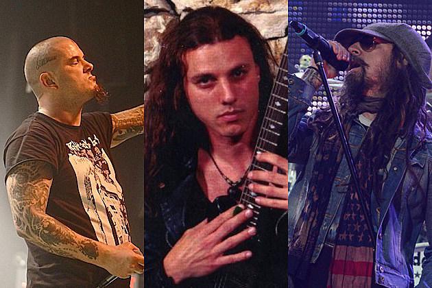 Philip Anselmo, Chuck Schuldiner, Rob Zombie