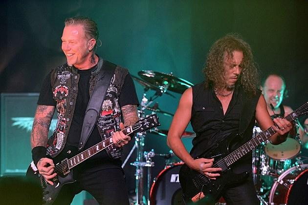 Metallica to Perform National Anthem at NBA Finals