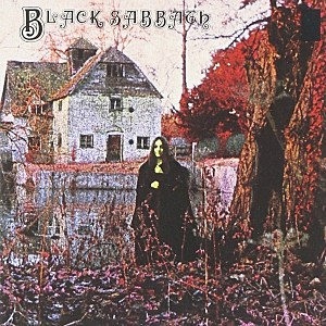 Black Sabbath debut album cover