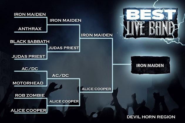 Best Live Band Devil Horn Region Final