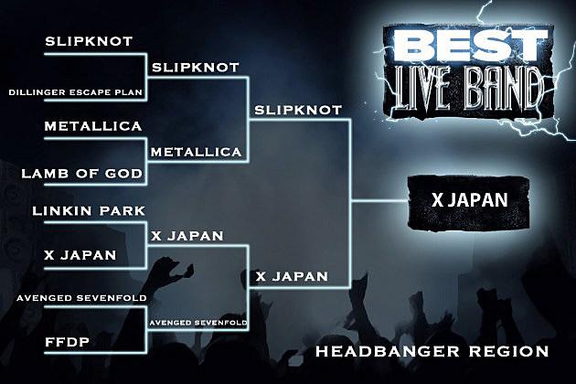 Best Live Band Headbanger Region Final