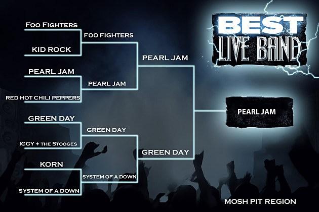 Best Live Band Mosh Pit Region Final