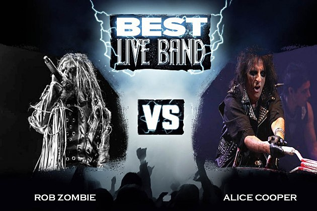 Rob Zombie vs. Alice Cooper