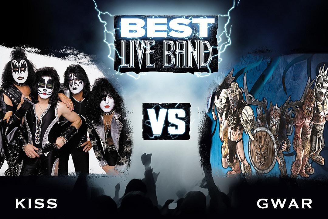 KISS vs. GWAR - Best Live Act, Round 1
