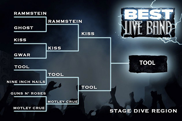 Best Live Band Stage Dive Region Final