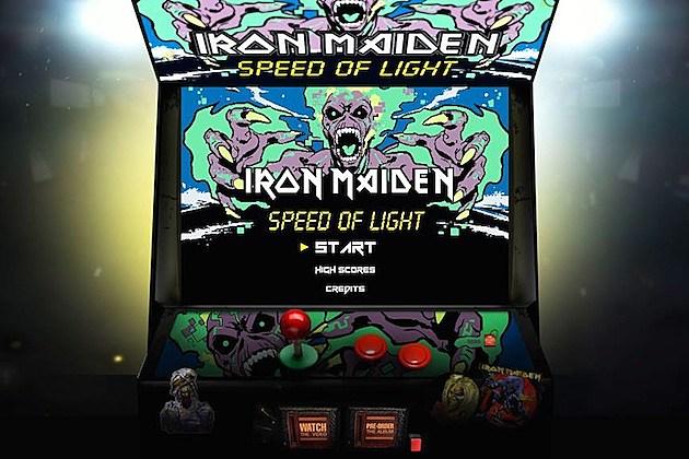 Iron Maiden Speed of Light Video Game