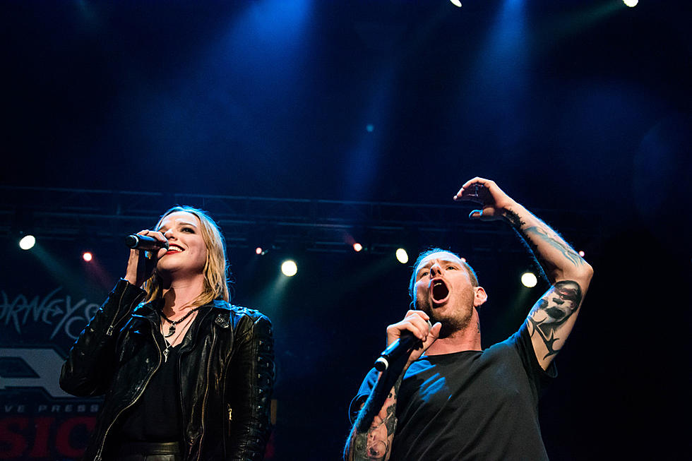 Stone Sour Lzzy Hale Rock Gimme Shelter Cover