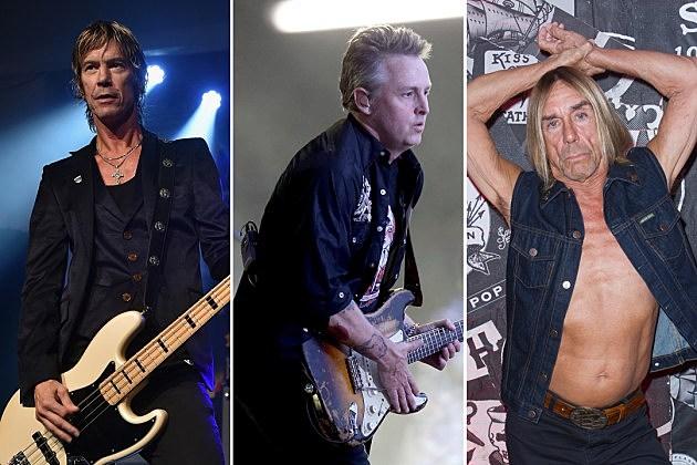 Duff McKagan Mike McCready Iggy Pop