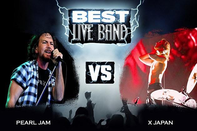 Pearl Jam vs. X Japan