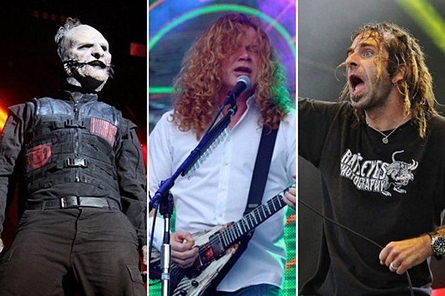 Slipknot Megadeth Lamb of God