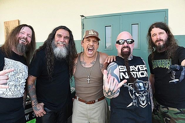 "Slayer ""Repentless"" Music Video Shoot"