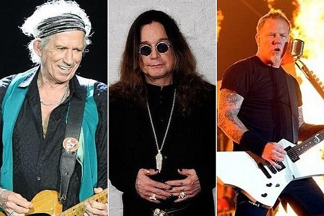 Richards Sabbath Metallica
