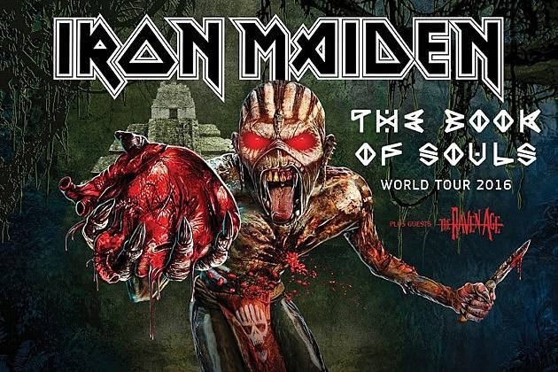 Iron Maiden 2016 Tour