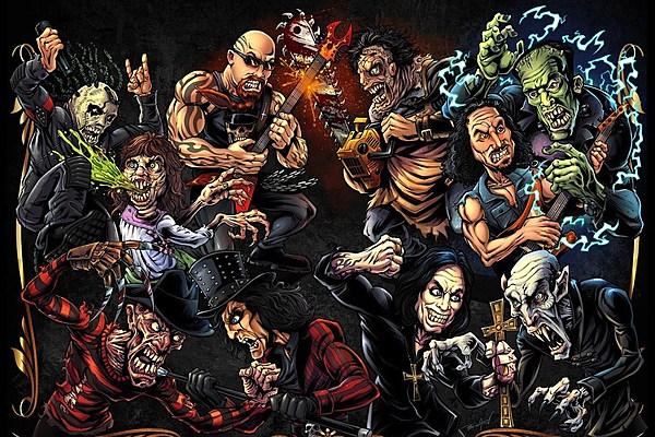 Wallpaper Illustration Graphic Design Roar Movie: Metallica, Slipknot, Korn Members Featured In Horror Doc