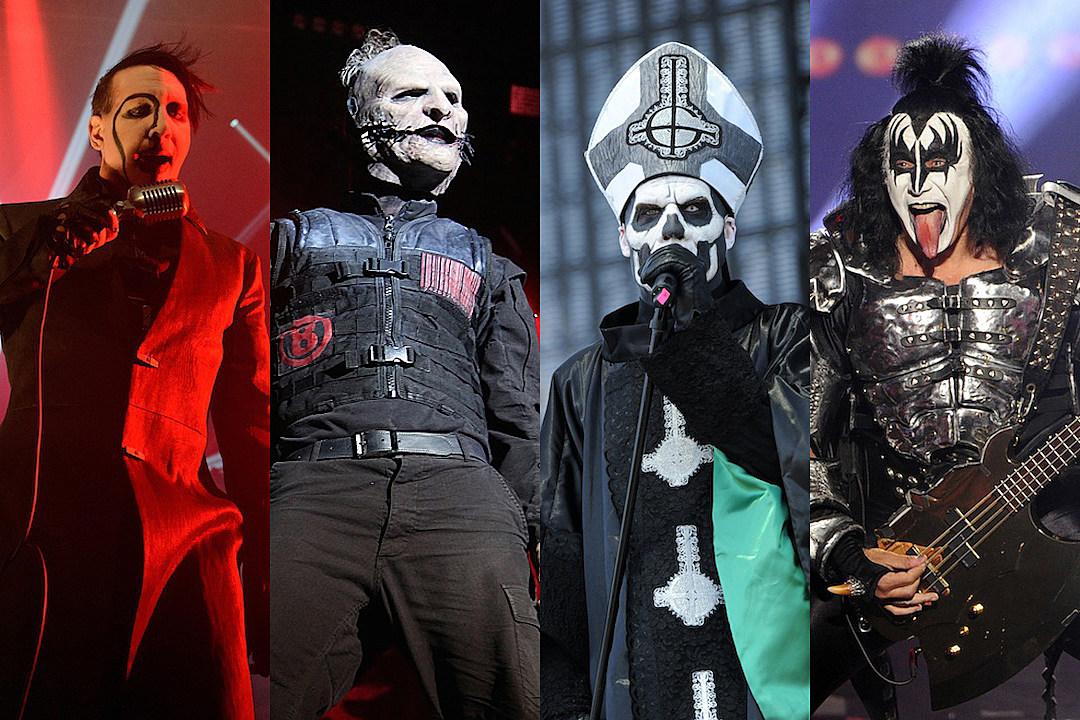 21 rock and metal acts who are always halloween ready - Band Halloween Costumes
