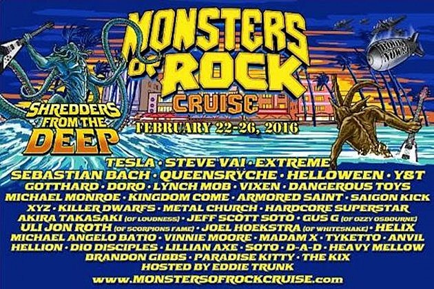 Monsters of Rock Cruise 2016