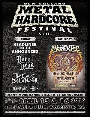 2016 New England Metal Fest