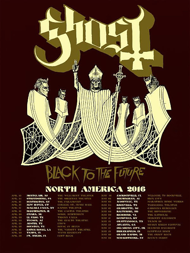 Ghost 2016 Tour