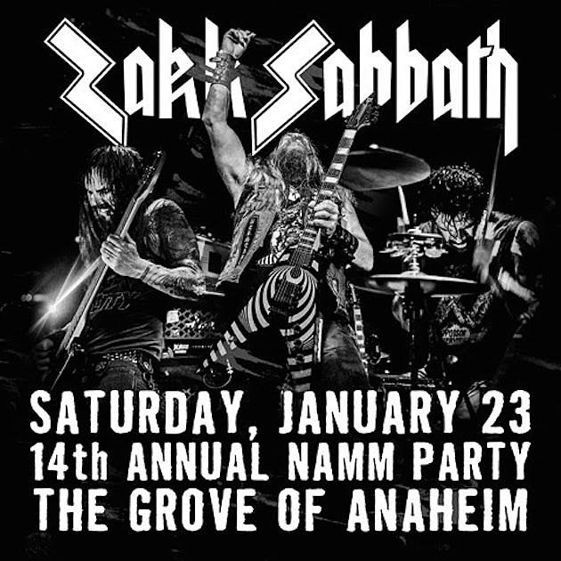 Zakk Sabbath Concert Promo