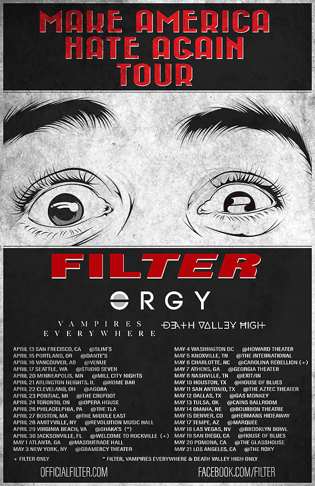 Filter Make America Hate Again Tour