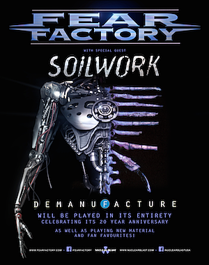 fear factory announce spring 2016 tour dates and will play album demanufacture in full mxdwn music. Black Bedroom Furniture Sets. Home Design Ideas