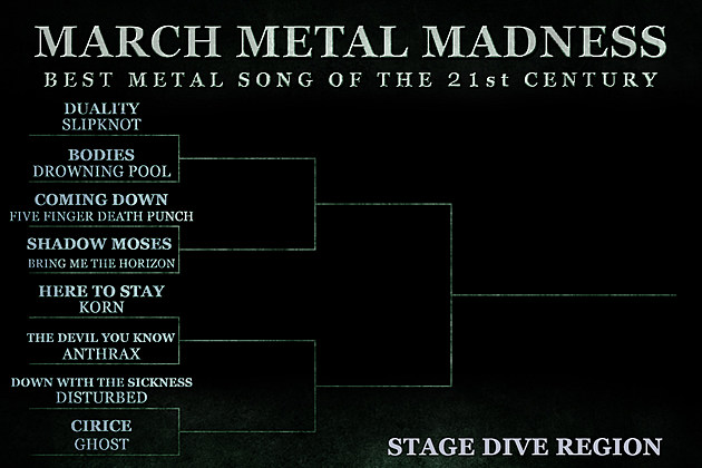 Stage Dive Region Round 1