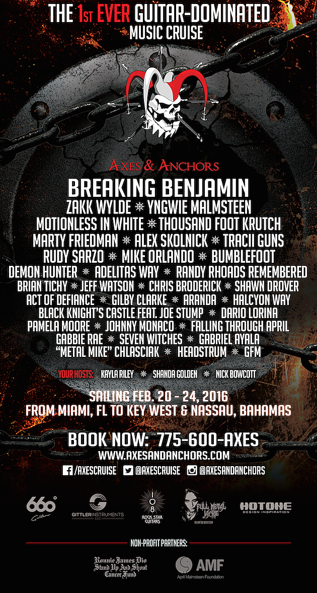 2016 Axes and Anchors Cruise