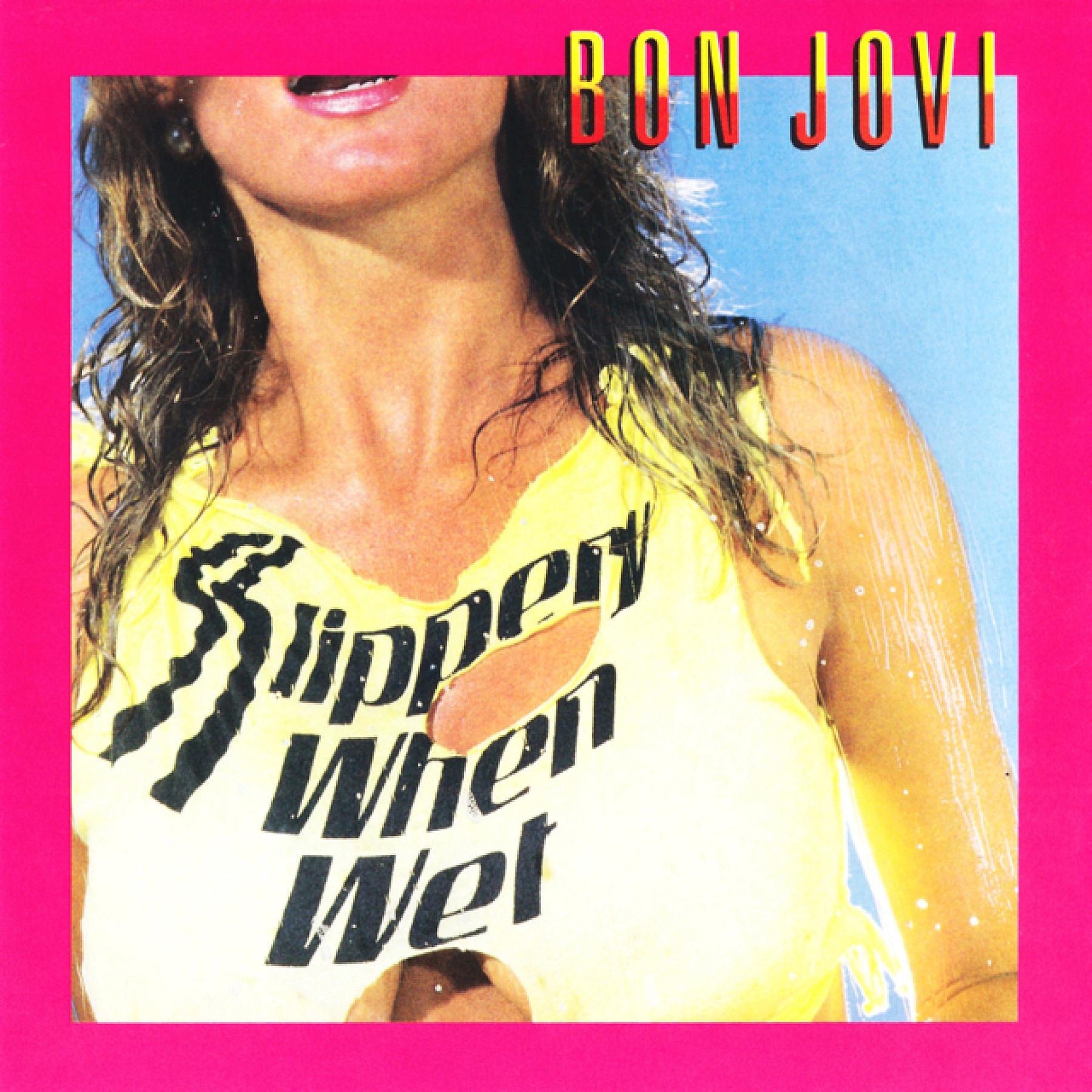 bon jovi �slippery when wet� bon jovi slippery when wet