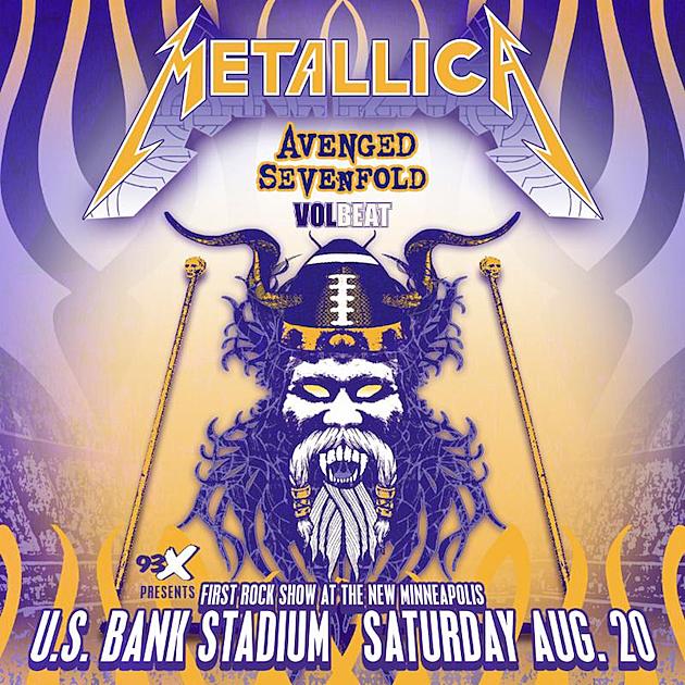 Metallica Concert Poster