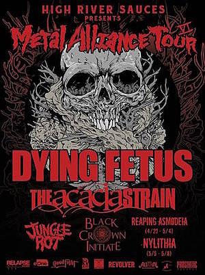2016 Metal Alliance Tour