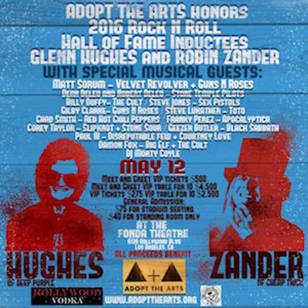 Glenn Hughes Robin Zander To Be Honored By Rock Icons
