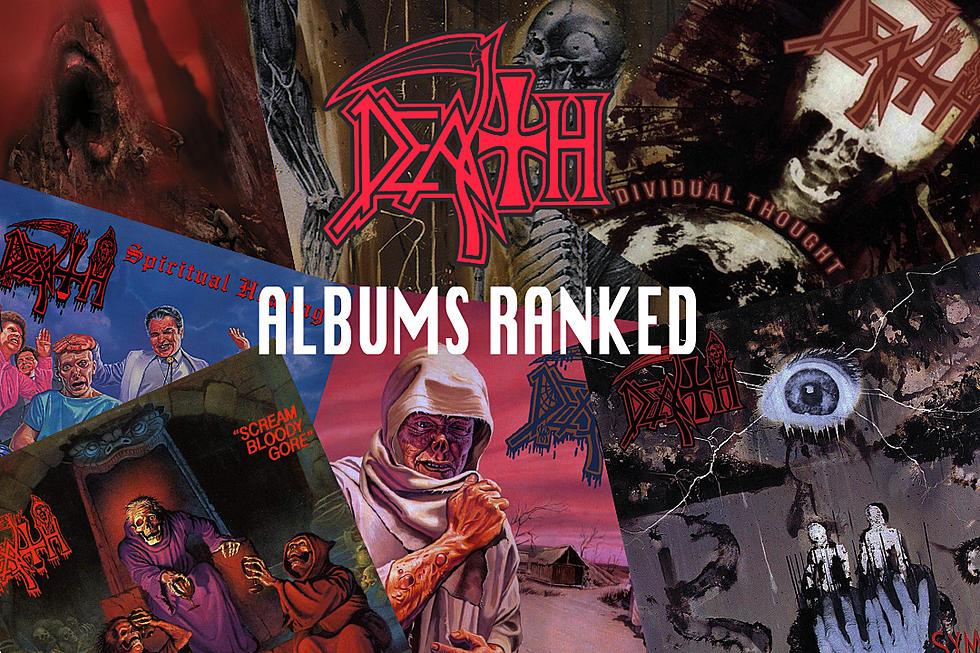Death Albums Ranked