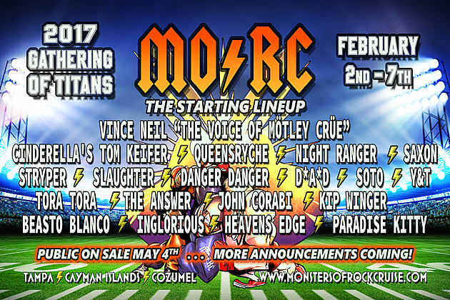 2017 Monsters of Rock Cruise