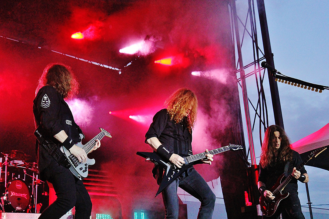 Megadeth Pull Out of Paraguay Gig Mid-Show After Fans Break Barricades